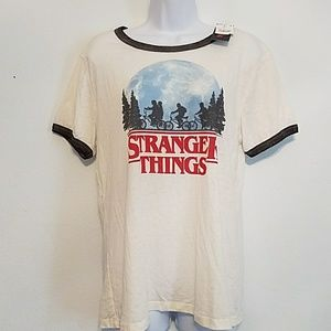 "NWT XXL neat Netflix ""STRANGER THINGS"" shirt"